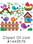 Bird Clipart #1443576 by visekart