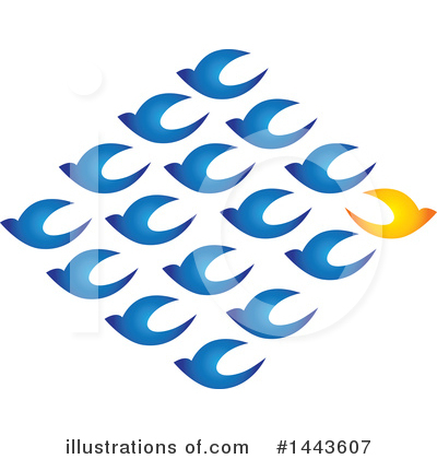 Bird Clipart #1443607 by ColorMagic