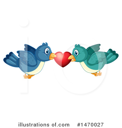 Love Birds Clipart #1470027 by Graphics RF