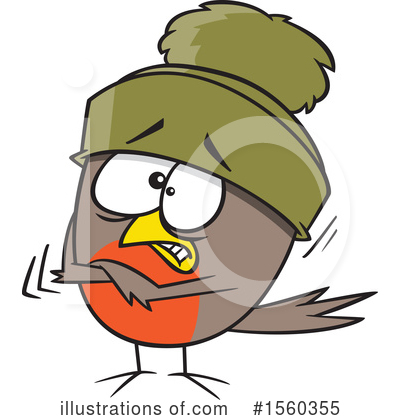 Bird Clipart #1560355 by toonaday