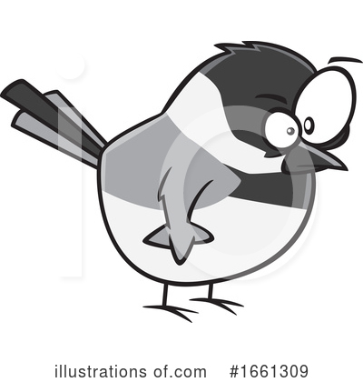 Royalty-Free (RF) Bird Clipart Illustration by toonaday - Stock Sample #1661309