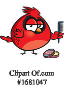 Bird Clipart #1681047 by toonaday