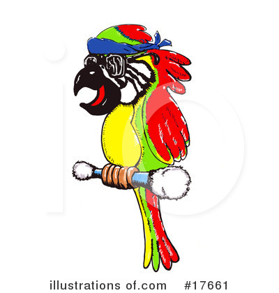 Royalty-Free (RF) Bird Clipart Illustration by Spanky Art - Stock Sample #17661