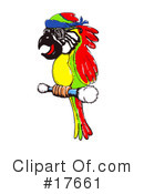 Royalty-Free (RF) Bird Clipart Illustration #17661