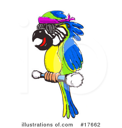 Royalty-Free (RF) Bird Clipart Illustration by Spanky Art - Stock Sample #17662