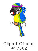 Royalty-Free (RF) Bird Clipart Illustration #17662
