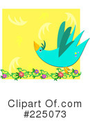 Royalty-Free (RF) Bird Clipart Illustration #225073