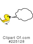 Royalty-Free (RF) Bird Clipart Illustration #225128