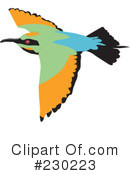 Bird Clipart #230223 by Dennis Holmes Designs