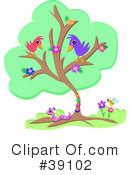 Royalty-Free (RF) Bird Clipart Illustration #39102