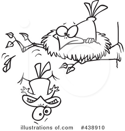 Royalty-Free (RF) Bird Clipart Illustration by Ron Leishman - Stock Sample #438910