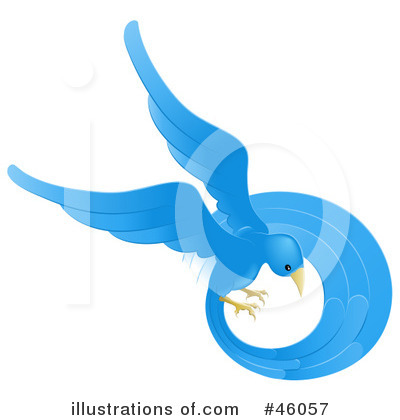 Royalty-Free (RF) Bird Clipart Illustration by Geo Images - Stock Sample #46057