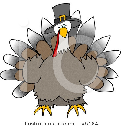 Turkey Clipart #5184 by djart