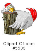 Royalty-Free (RF) Bird Clipart Illustration #5503
