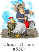 Royalty-Free (RF) bird Clipart Illustration #5821