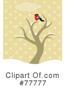 Royalty-Free (RF) bird Clipart Illustration #77777