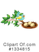 Bird Eggs Clipart #1334815 by Graphics RF