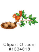 Bird Eggs Clipart #1334818 by Graphics RF