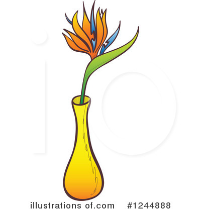 Bird Of Paradise Clipart #1244888 by Zooco