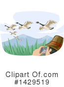 Bird Watching Clipart #1429519 by BNP Design Studio