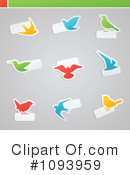 Birds Clipart #1093959 by elena