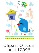 Birds Clipart #1112396 by BNP Design Studio