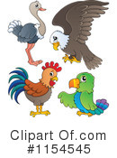 Royalty-Free (RF) Birds Clipart Illustration #1154545
