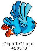 Royalty-Free (RF) Birds Clipart Illustration #20378