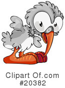 Royalty-Free (RF) Birds Clipart Illustration #20382