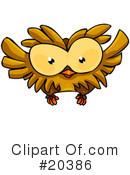 Royalty-Free (RF) Birds Clipart Illustration #20386