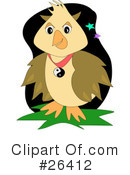 Royalty-Free (RF) Birds Clipart Illustration #26412