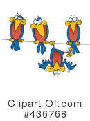 Birds Clipart #436768 by toonaday