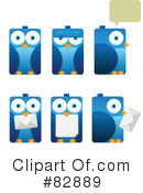 Royalty-Free (RF) birds Clipart Illustration #82889