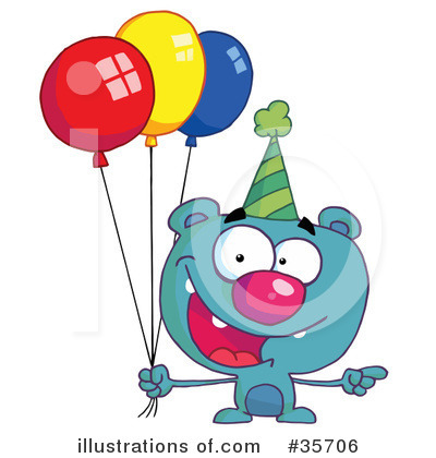 Balloons Clipart #35706 by Hit Toon