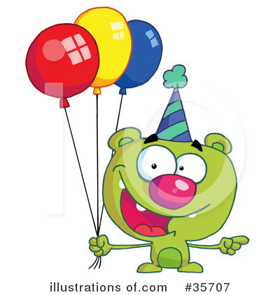 Balloons Clipart #35707 by Hit Toon