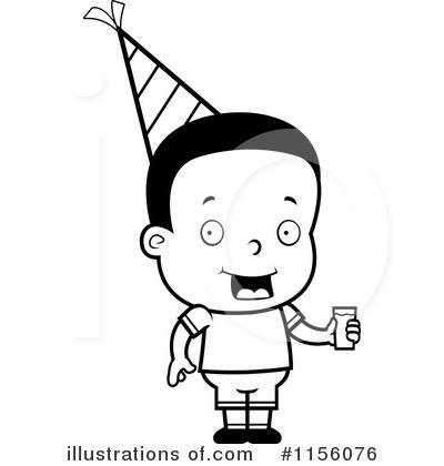 Royalty-Free (RF) Birthday Boy Clipart Illustration by Cory Thoman - Stock Sample #1156076
