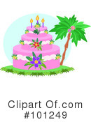 Birthday Cake Clipart #101249 by bpearth