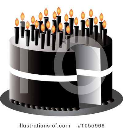 Birthday Cake Clipart #1055966 by Pams Clipart