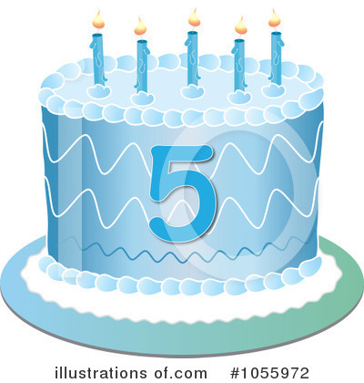 Birthday Cake Clipart #1055972 by Pams Clipart