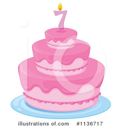 Birthday Cake Clipart #1136717 by Graphics RF