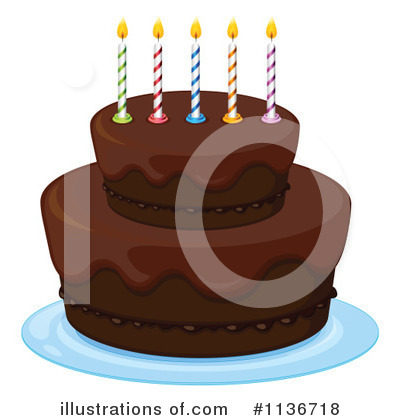 Birthday Cake Clipart #1136718 by Graphics RF