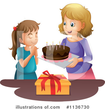 Birthday Cake Clipart #1136730 by Graphics RF