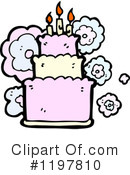 Birthday Cake Clipart #1197810 by lineartestpilot