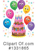 Birthday Cake Clipart #1331865 by visekart