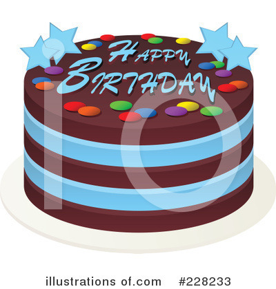 Birthday Cake Clipart 228233 Illustration by Tonis Pan