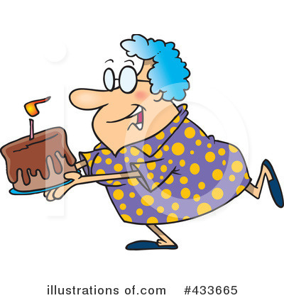 Granny Clipart #433665 by toonaday
