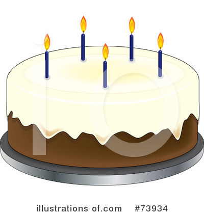 Birthday Cake Clipart #73934 by Pams Clipart