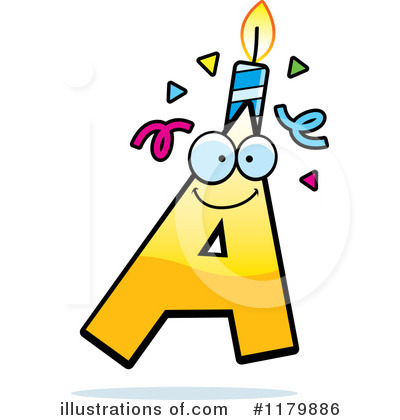 Birthday Candle Clipart #1179886 by Cory Thoman