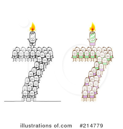 Birthday Candle Clipart #214779 by NL shop