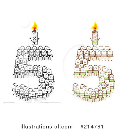 Birthday Candle Clipart #214781 by NL shop